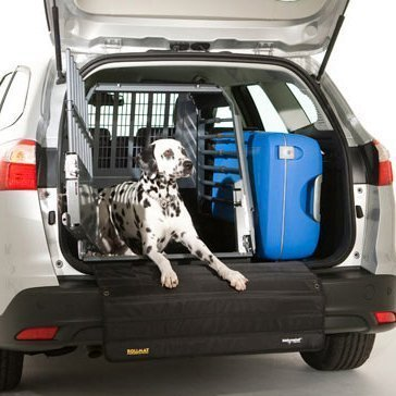 3G_Variocage_Single_in_car_dalmatian_door_open_with_luggage